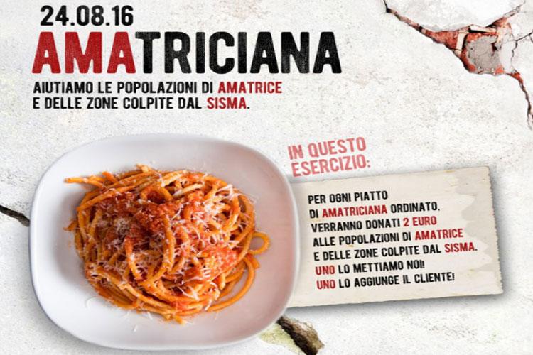 Señorío de Ajuria: Amatriciana para Terremoto de Italia